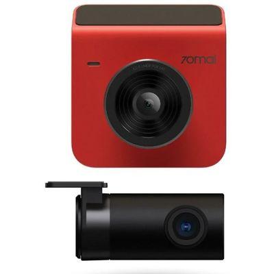 Автомобильный видеорегистратор Xiaomi 70mai Dash Cam A400 + Rear Cam Set красный