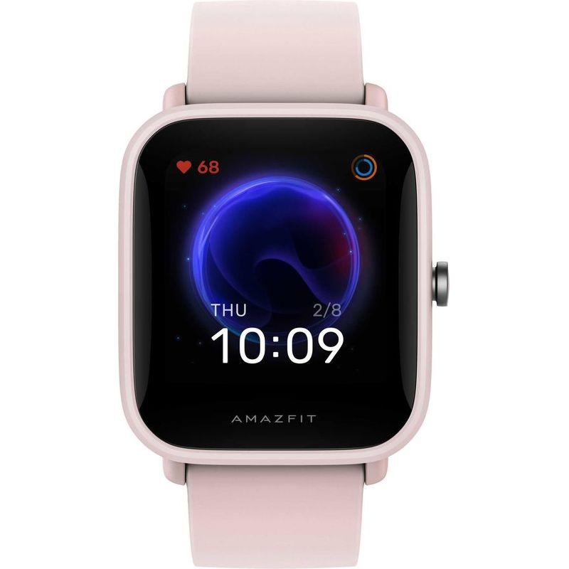 Смарт-часы Xiaomi Amazfit Bip U розовый с розовым ремешком