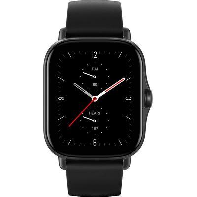 Смарт-часы Xiaomi Amazfit GTS 2e черный с черным ремешком