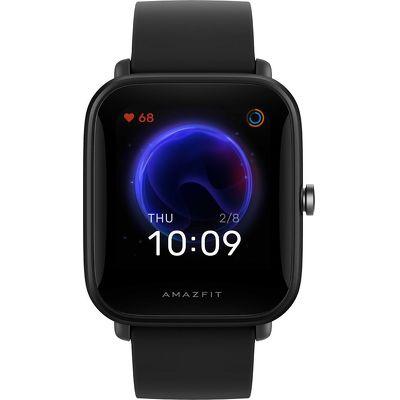 Смарт-часы Xiaomi Amazfit Bip U Pro черный с черным ремешком