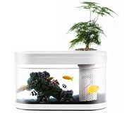 Умный аквариум Xiaomi Geometry Fish Tank Aquaponics Ecosystem HF-JHYG001