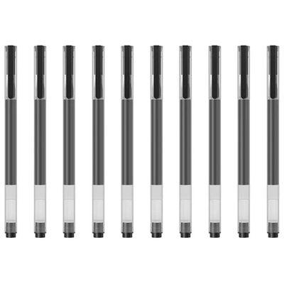 Ручка гелевая Xiaomi Mi High-capacity Gel Pen (10шт) черная BHR4603GL