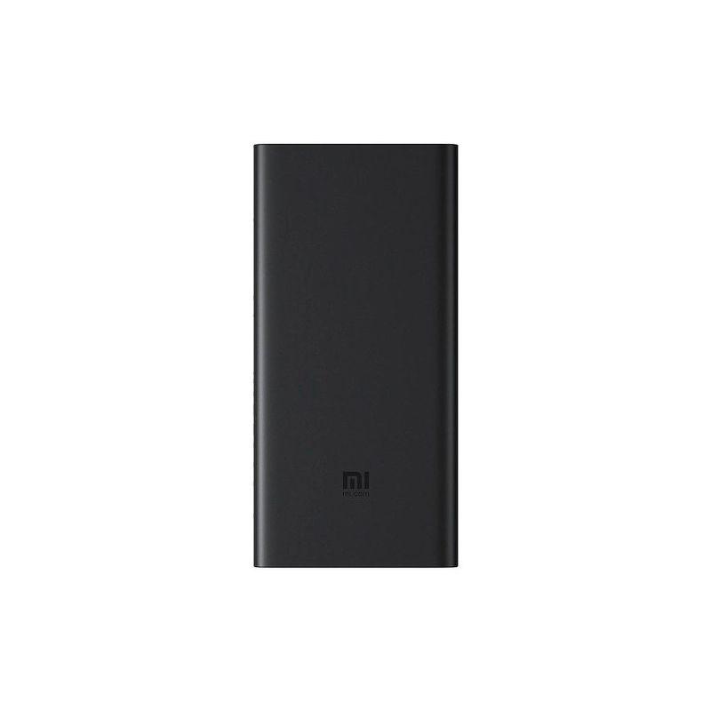 Портативный аккумулятор Xiaomi Mi Power Bank 3 10000 mAh с беспроводной зарядкой черный