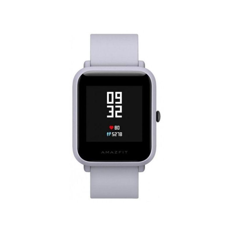 Смарт-часы Xiaomi Amazfit Bip белый с белым ремешком