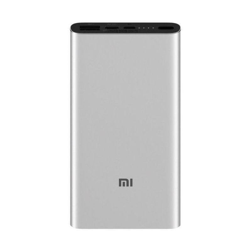 Портативный аккумулятор Xiaomi Mi Power Bank 3 Bank 3 10000 mAh серебристый